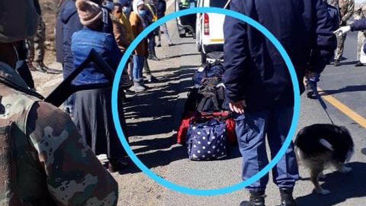 Mzansi Reacts To Police Officers Who Did This To Suspected Looters