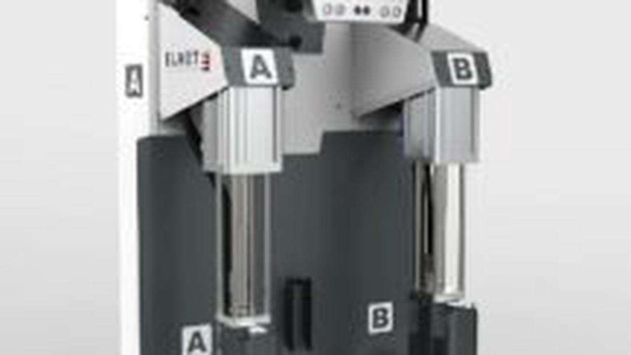 Elmet: Kompaktes LSR-Dosiersystem und präziser vollelektrischer Kaltkanal