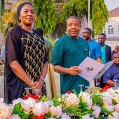 Meet Ebere, The Beautiful Wife Of Ex-Governor Emeka Ihedioha