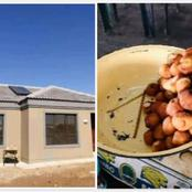 A 15-years old girl from Limpopo has built her mother a house from selling fat cakes at school