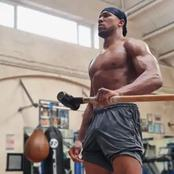 Check out the picture Anthony Joshua shared that got everyone talking