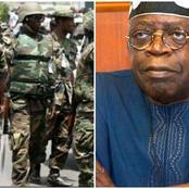 Today's Headline: Newly Recruited Soldier Commit Suicide, Plot To Rubbish Tinubu Revealed