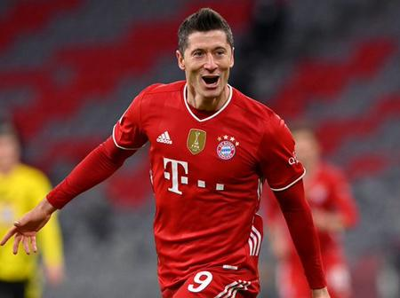 Lewandowski Gets Back To Bayern Munich After Injury