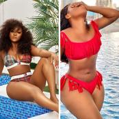These 5 Nigerian Celebrities Slayed Differently With Their Bikini Wears (Photos)