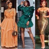 Check Out 35 Lastest Wedding Guest Fashionista Gowns