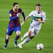 Lionel Messi nets a double as Barcelona won 3-0 against Elche.(Opinion)