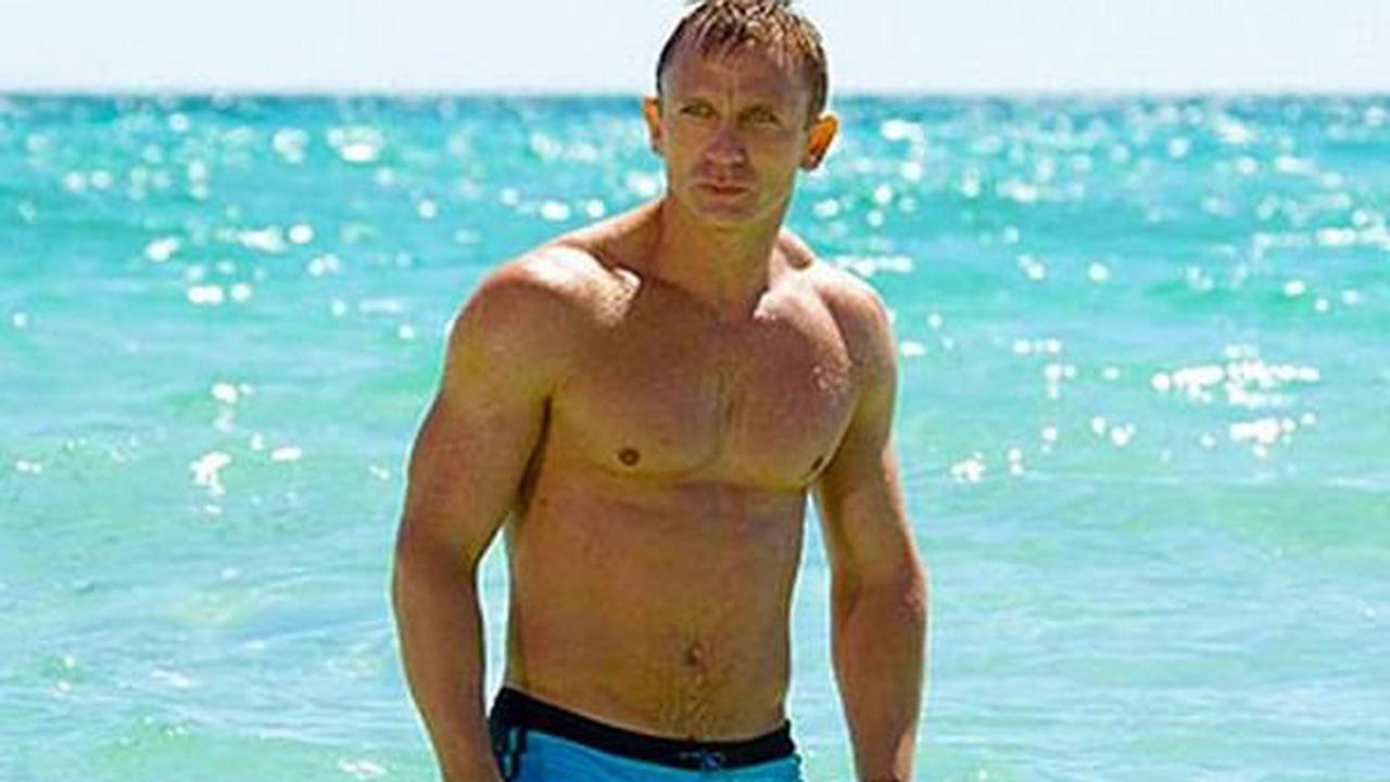 Bond Daniel Craig on being 'constantly naked' and who chose those infamous blue trunks