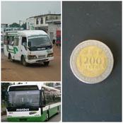 Après les Gbakas, c' est au tour de la Sotra de distribuer des pièces de 200 frs indésirables