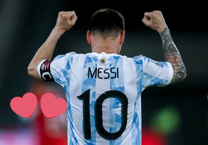 Argentine Messi is by far the best player of the tournament