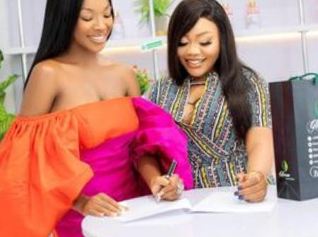 Former Big Brother Nigeria Housemate, Victoria Adeyeye Vee, Finally Joins A New Family
