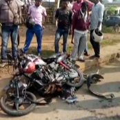 One Killed, One Injured In A Tragic Road Accident Involving Two Motorbikes In Kisumu County