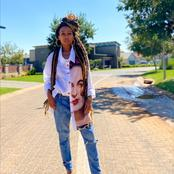 Dineo Ranaka left fans gushing over her unique sense of style on a recent post.