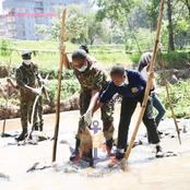 KDF Recognition at the Wangari Maathai Day