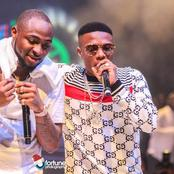Photos of Davido and Wizkid giving us friendship goals