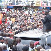 William Ruto Tours Mt Kenya Region