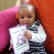 See the son of Ex BBN housemate that clocked six-months-old today