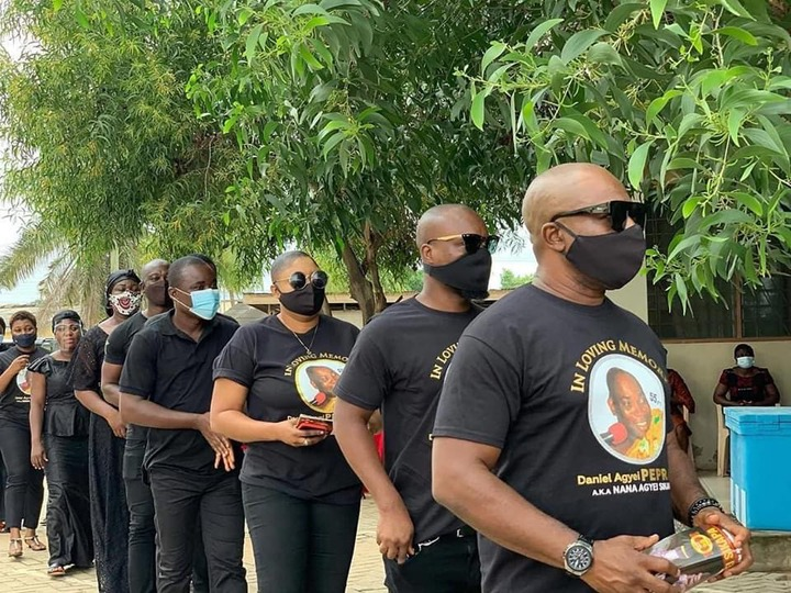 f44e8f7ee21aafccfe77e0dcf8c4971a?quality=uhq&resize=720 - Management & Staff of Despite Media arrives at the one week observation Of Late Nana Adjei Sikapa(Photos)