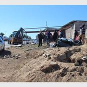 Pregnant Woman Had To Watch Metro Police Demolished Her House Because Of EFF