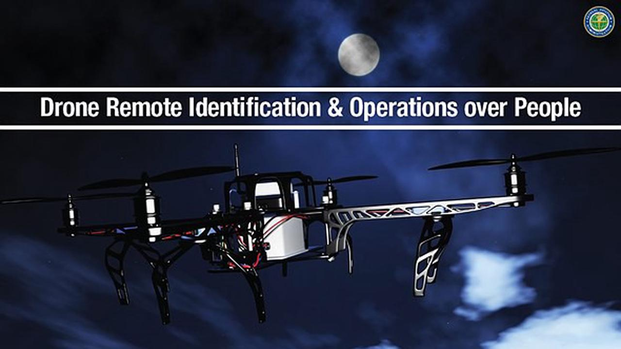 FAA releases final rule on Remote ID and operations over people/night flights