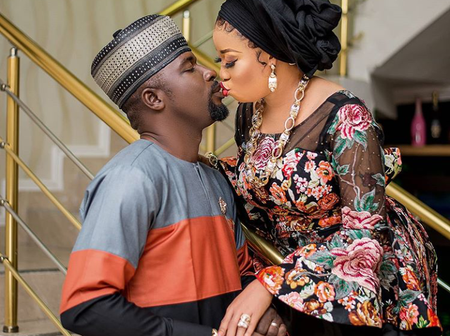 Seyi Edun, Abiodun Adebanjo, Others Stars React As Lizzy Anjorin Share Loved Up Photo Online