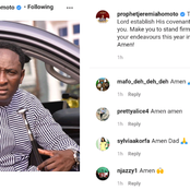 Instagram users react to the prayers of Prophet Jeremiah Omoto Fufeyin