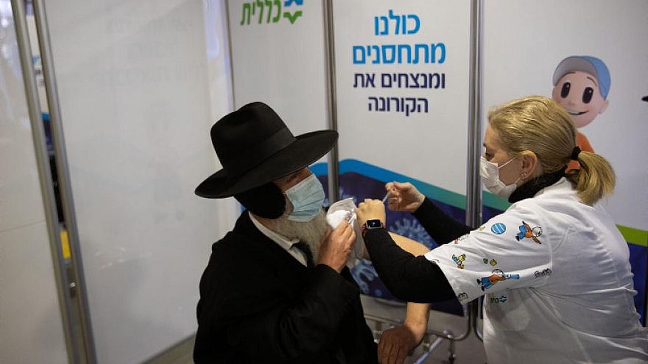 Nearly 500,000 Israelis vaccinated as infection rate continues to rise