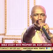 God Will Judge You For Killing Them- Prophet Oduro