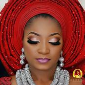 Stunning And Sophisticated Asoebi And Makeup Ideas For Brides