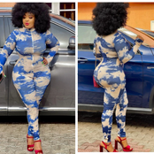 Omoborty's Curves Spark Reactions After Posting Her Beautiful Photos On Social Media