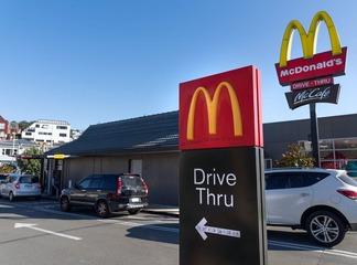 Restaurant drive-thru re-opens