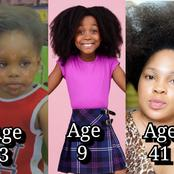 10 Actresses With The Best Natural Hair From Age 3 - 62 (2021)