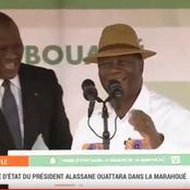 Président ADO à Bouaflé: