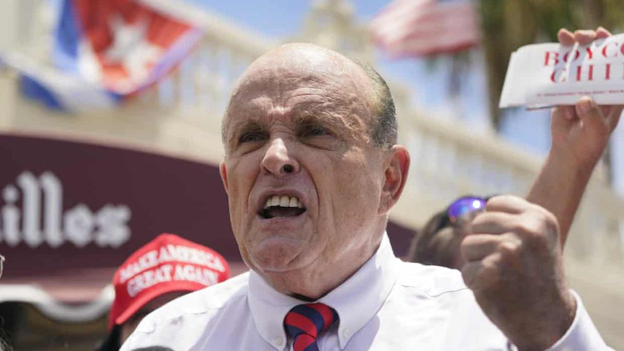 Rudy Giuliani says 'I committed no crime' while working for Trump