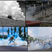 If You Get Sprayed with Tear-Gas During the #EndSARS Protests, Here Are 3 Things You Should Do