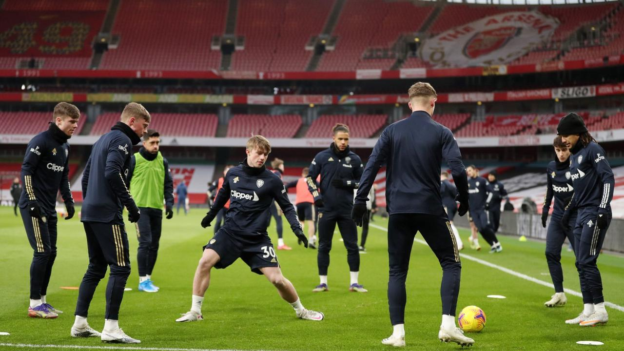 Leeds: Joe Donnohue doesn't expect Joe Gelhardt debut v Fulham