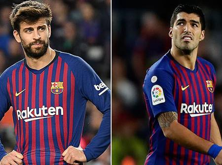 17 Barcelona players up for sale including Suarez, Alba and Umtiti. New manager to be announced soon