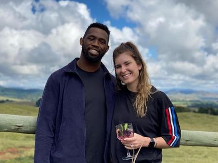 Siya Kolisi and his wife Rachel left fans amused with their recent pictures serving best couple goal