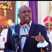 Senator Gideon Moi Says BBI Is Now On Half Time (VIDEO)