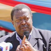 The Strong Message Musalia Mudavadi Sent To Raila Odinga