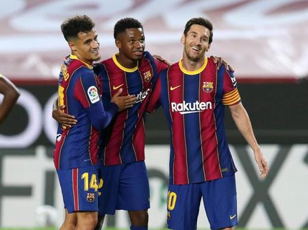 Seven Top Games On The Way For Barcelona