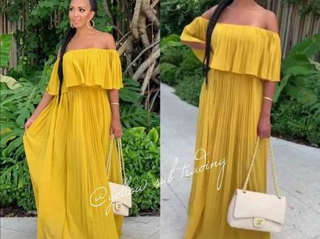 Adorable and Trendy Chiffon Gown Styles for Ladies