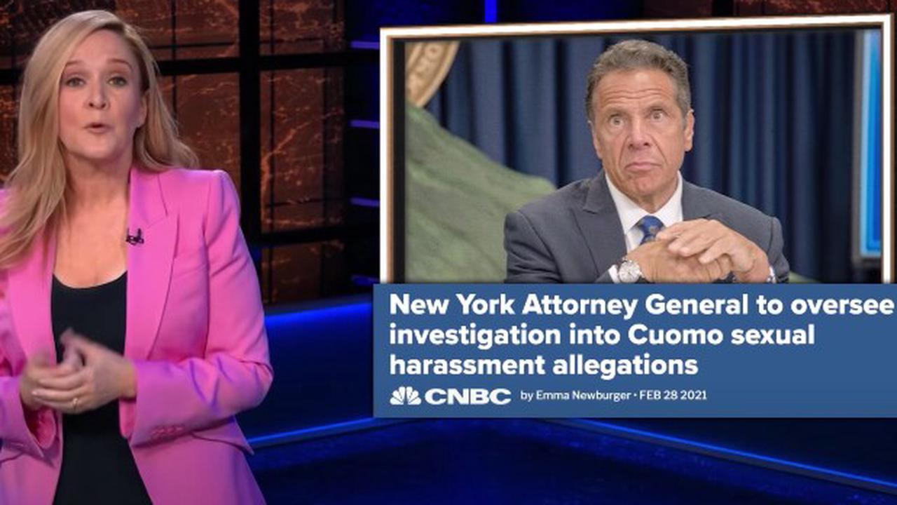 Samantha Bee Calls Andrew Cuomo 'Dirtbag' in Brutal Takedown (Video)