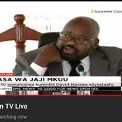 Justice David Majanja Reveals the Name They Used to Call Prof Mbote as Their University Lecturer