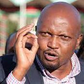 Moses Kuria arrested in Kiambu for violating COVID-19 protocols.