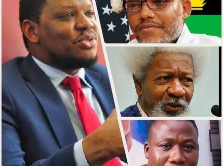 Today's Headlines: No Difference Between Kanu, Igboho, Shekau – Adamu Garba, Soyinka Blows Hot, More