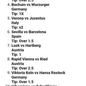 Winning Will be Guaranteed again Today from Daily Accurate Football Match Predictions.
