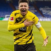 Manchester United Target Sancho Thrills Fans After Scoring A Penalty And Providing an Assist