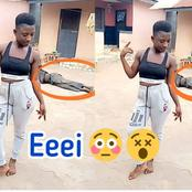 See What Was Spotted On The Photos This Lady Shared On Her Timeline (Photos)