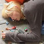 Single Mother Falls Asleep In A Pile Of Lego As Horrible Illness Takes Over Her Body