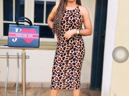Itele's Wife Has A Good Taste For Decent Outfits. See 20 Photos Of Lovely Outfits Rocked By Her